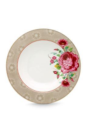 assiette rose