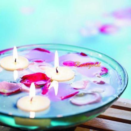 bougies flottant
