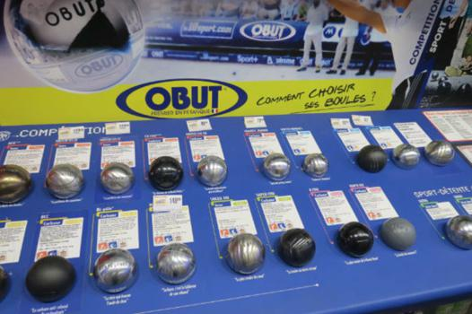 boule de petanque intersport