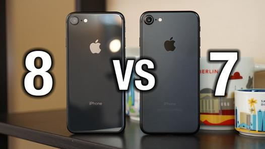 difference iphone 7 et 8