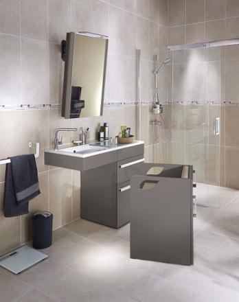 element de salle de bain