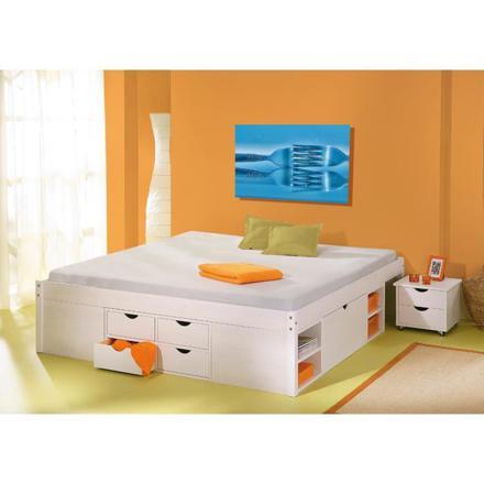 lit 2 places avec rangement