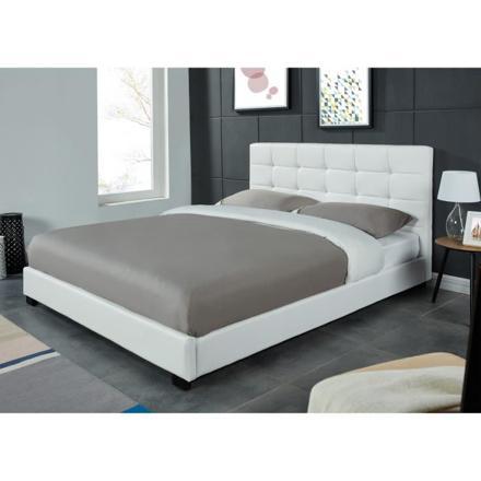 lit blanc