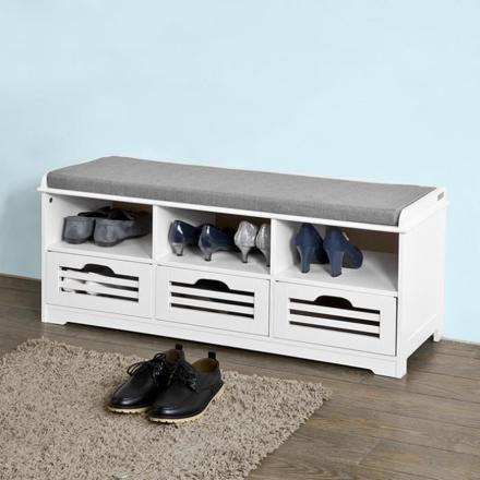 meuble a chaussure banc