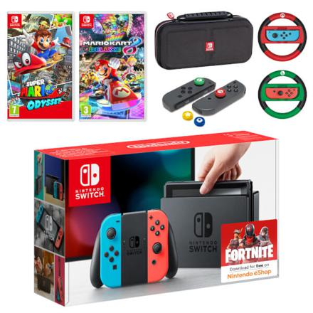 pack nintendo switch