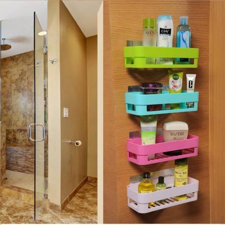 rangement mural salle de bain