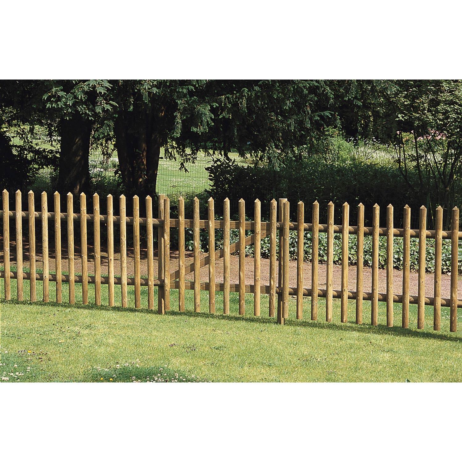 barriere de jardin