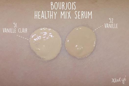 bourjois healthy mix vanille clair