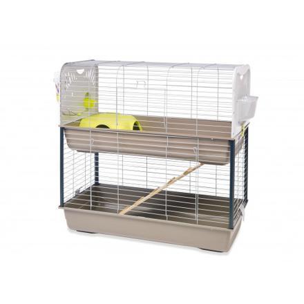 cage lapin 2 etage