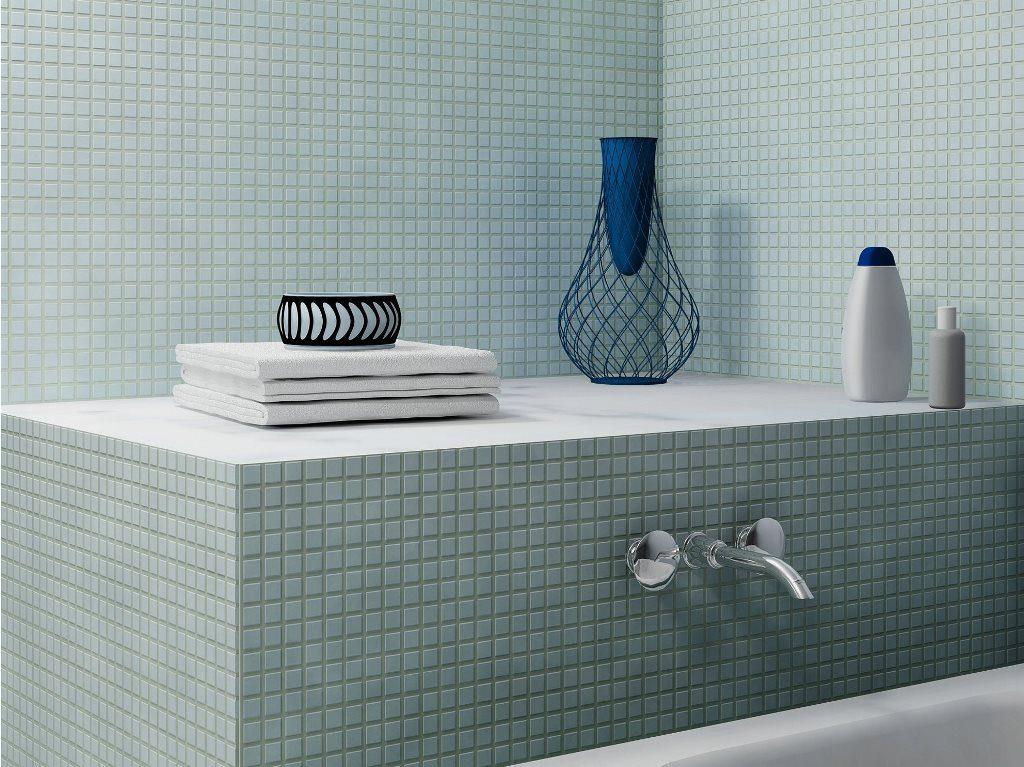 carrelage mosaique salle de bain