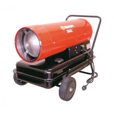 chauffage de chantier gaz