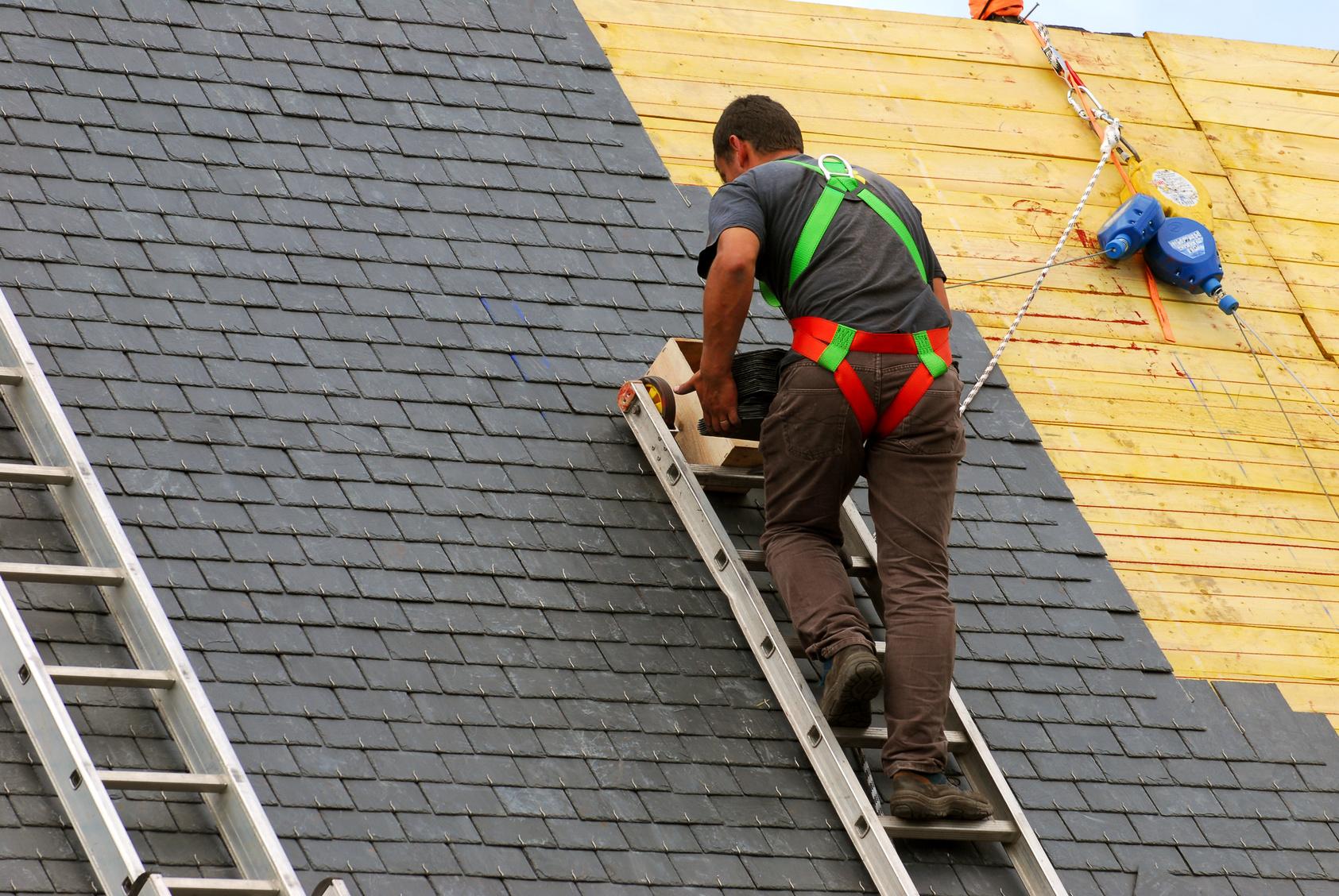 echelle pour toiture