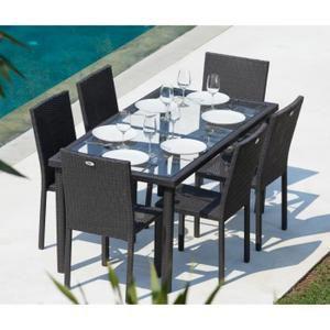ensemble table jardin