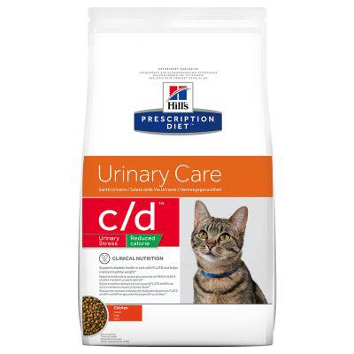 hill's prescription diet feline c d urinary stress reduced calorie
