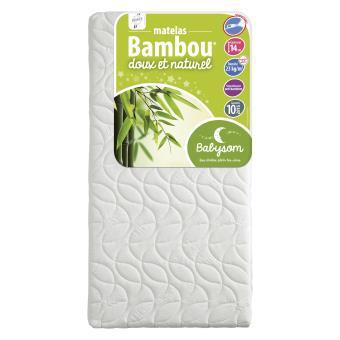 matelas bambou bébé