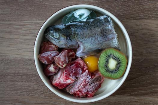 nourriture barf chat