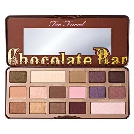 palette too faced chocolate bar