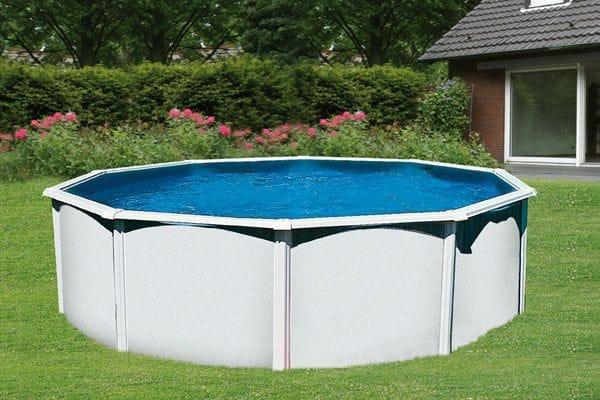 piscine acier ronde
