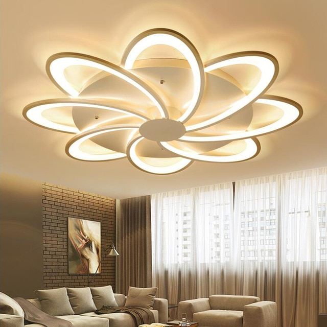 plafonnier led salon