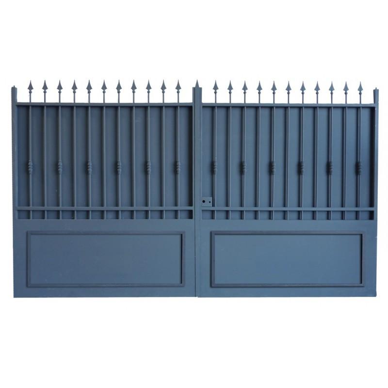 portail métallique