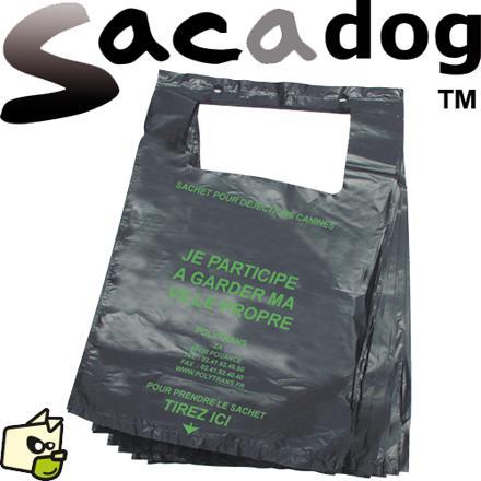 sac crotte chien