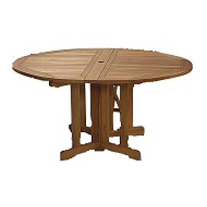 table ronde de jardin