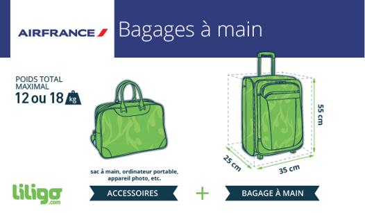 taille bagage à main air france