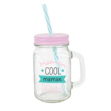 tasse avec paille