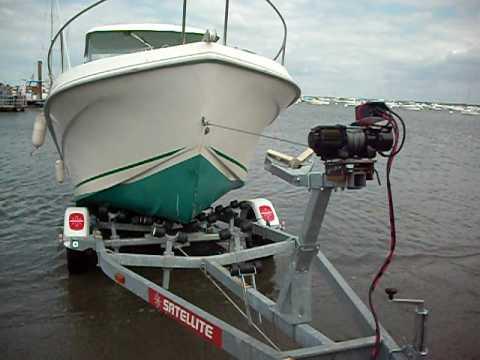 treuil electrique bateau