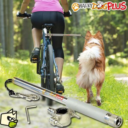 vélo chien barre