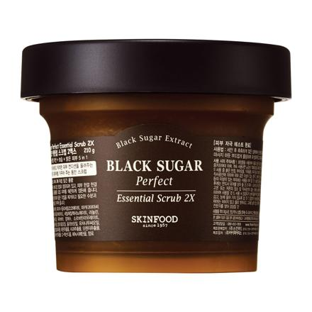 black sugar scrub