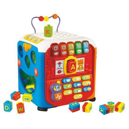 cube activité bébé
