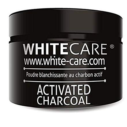 poudre de charbon blanchissante