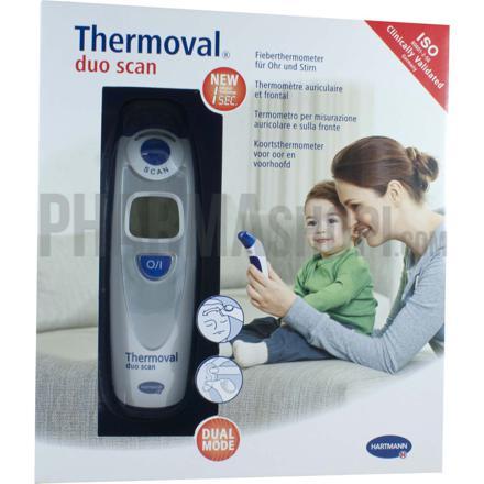 thermomètre frontal et auriculaire