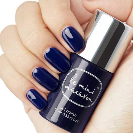 vernis bleu nuit