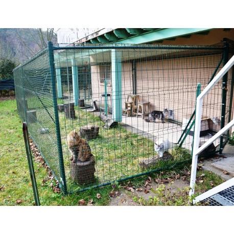 enclos pour chat