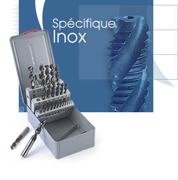 foret pour inox