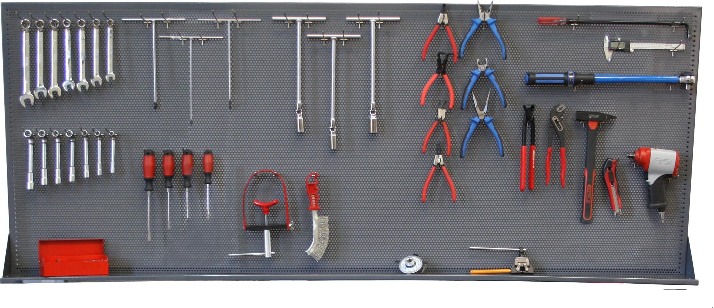 panneau outils